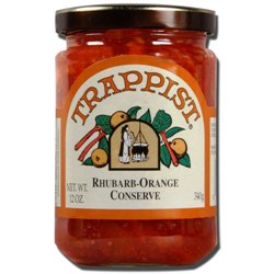 Trappist Preserves - Rhubarb-Orange Conserve (By the Case)