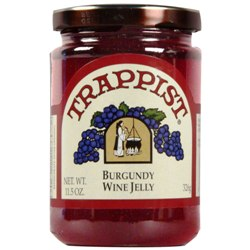 Trappist Preserves - Burgundy Wine Jelly (By the Case)