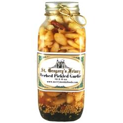 Herbed Pickled Garlic