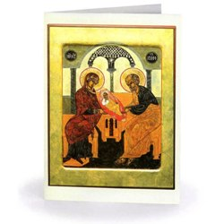 Golden Holy Family (box of 15)