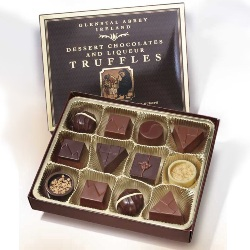 Chocolate Truffles from Glenstal Abbey, Ireland