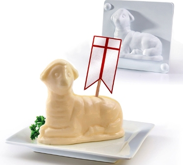 Plastic Lamb Mold (kit in box)