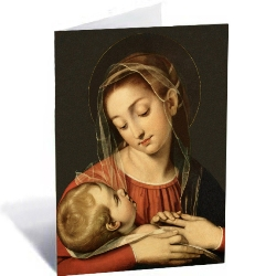 Madonna & Child Painting (box of 25)