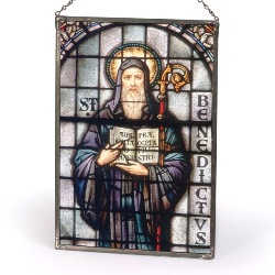 St. Benedict Sacred Stained Glass