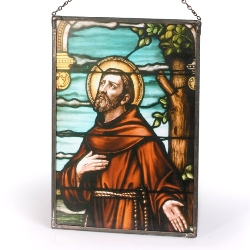 St. Francis Sacred Stained Glass