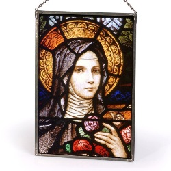 St. Therese Sacred Stained Glass