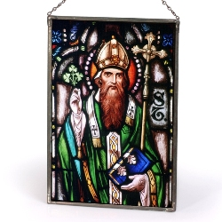 St. Patrick Sacred Stained Glass