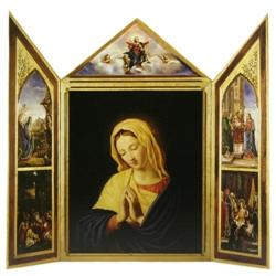 Virgin Tri-Fold (12 cards in gold bag)