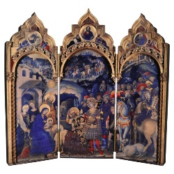 Adoration of the Magi Triptych (plaque)