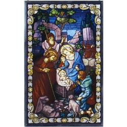 Truth in Glass Nativity