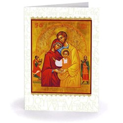 Holy Family Icon (box of 18)