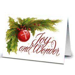 Messages of Peace & Joy Christmas Cards