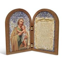 St. Joseph (wood diptych)