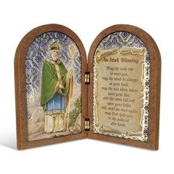 St. Patrick (wood diptych)