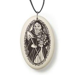 Saints Fine Porcelain Pendants