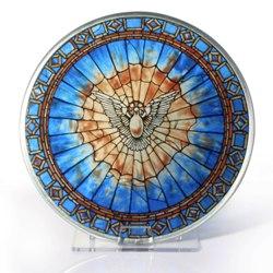 Holy Spirit Glass Suncatcher