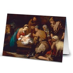 Murillo Adoration of the Shepherds (box of 18)