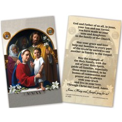World Meeting of Families Prayer Cards (25-pack)