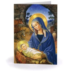 Mary with Child Christmas Cards (box of 15)