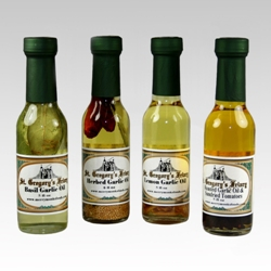 Herbed Oils from St. Gregory's Friary  - Basil Garlic Oil