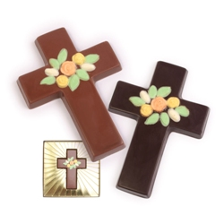 Chocolate Crosses - Milk Chocolate Cross